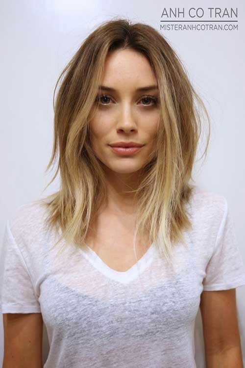 Hairstyles for Shoulder Length Hair 2016