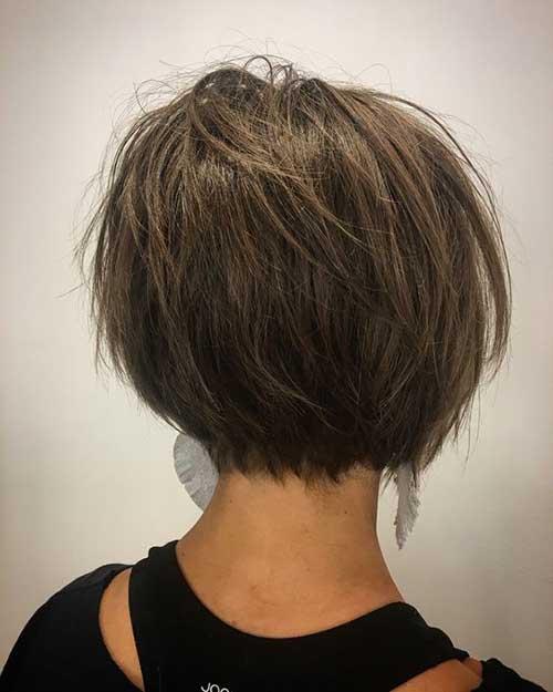 Brown Short Hairstyles-10