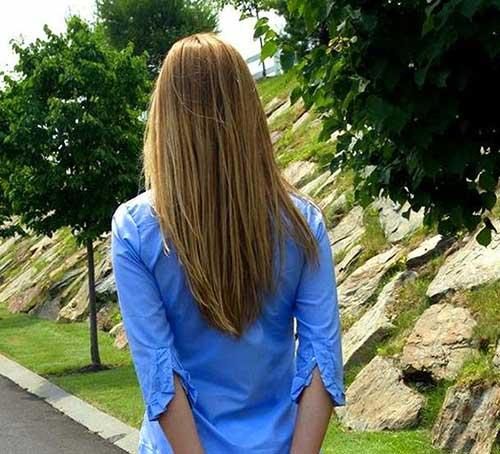 V Forme de Coupes de cheveux-10