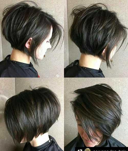 Brown Short Hairstyles-11