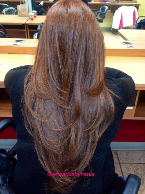 V Forme de Coupes de cheveux-14