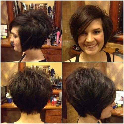 Brown Short Hairstyles-15