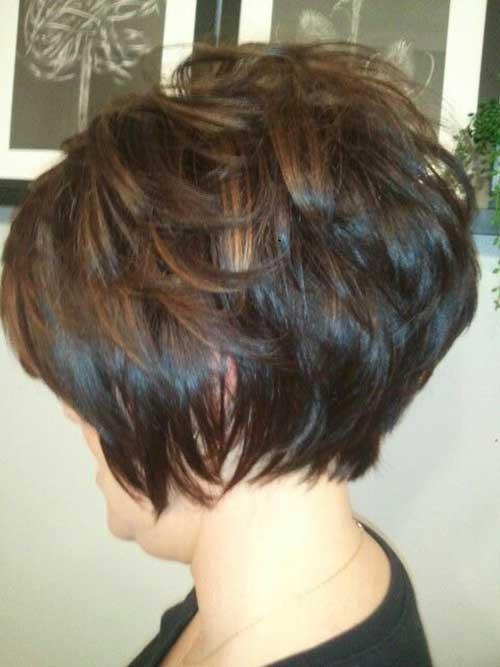 Brown Short Hairstyles-6