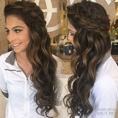 Stylish and Pretty Braided Long Hairstyles | Hairstyles & Haircuts ...