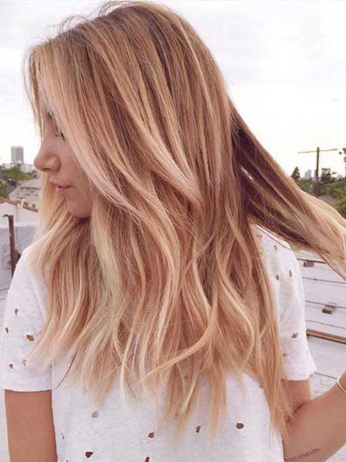 Long Medium Hairstyles