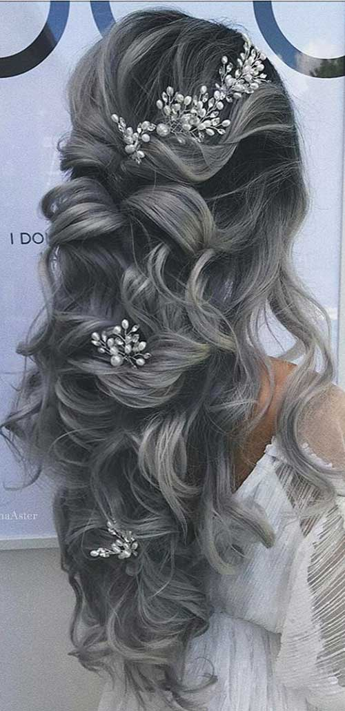 Long Updos Cheveux