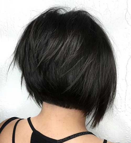 Short Dark Brown Hair
