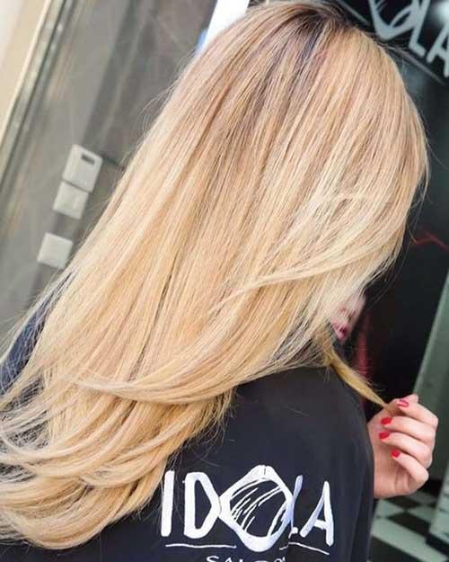 Forme de V les Coupes de Cheveux