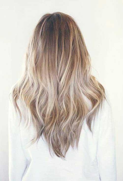 V Forme des Cheveux