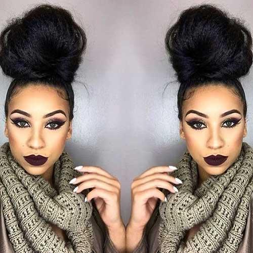 Bun Hairstyles-7