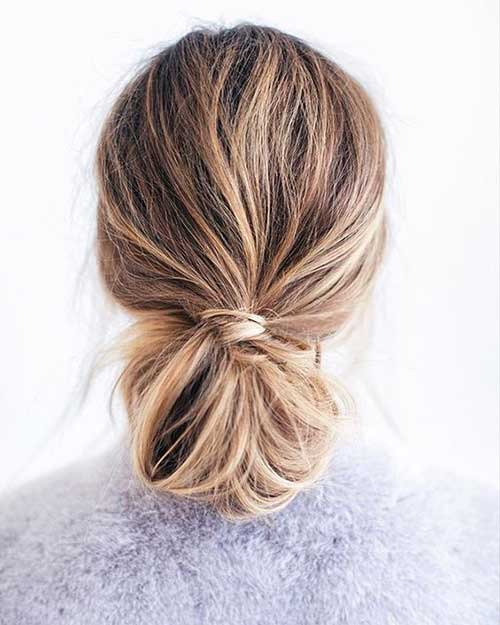 Bun Hairstyles Women
