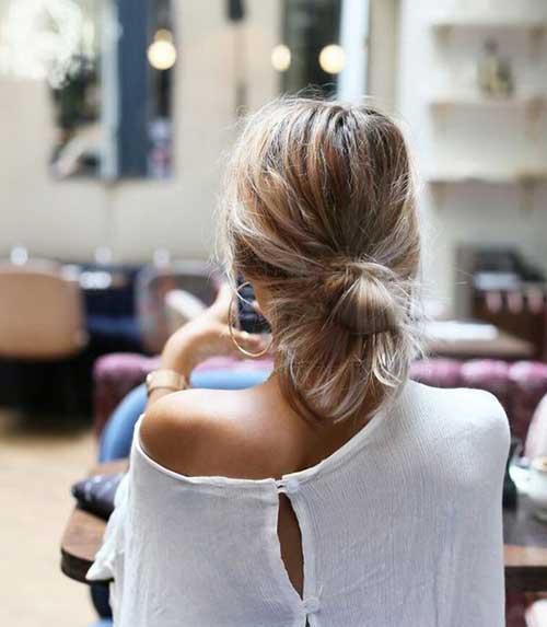 Messy Bun Hairstyles-11