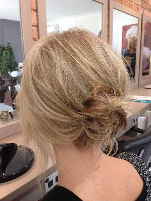 Messy Bun Hairstyles-6
