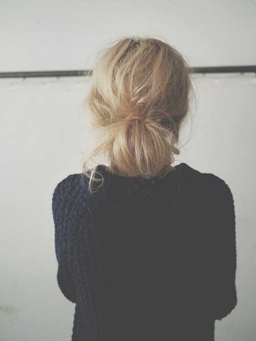 Messy Bun Hairstyles-7