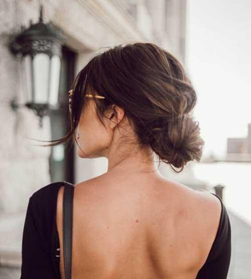Messy Bun Hairstyles-8