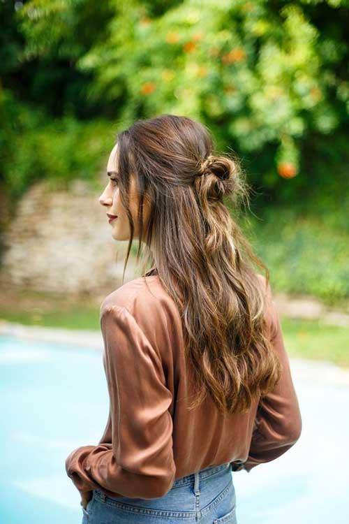 Half Bun Hairstyles-14