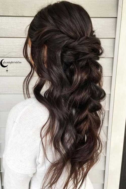Half Bun Hairstyles-6