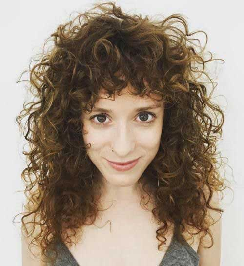 Curly Hairstyles with Bangs-13
