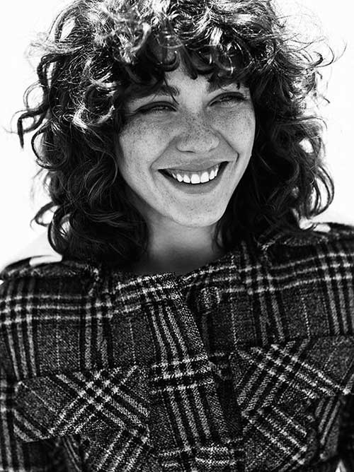 Curly Hairstyles with Bangs-8