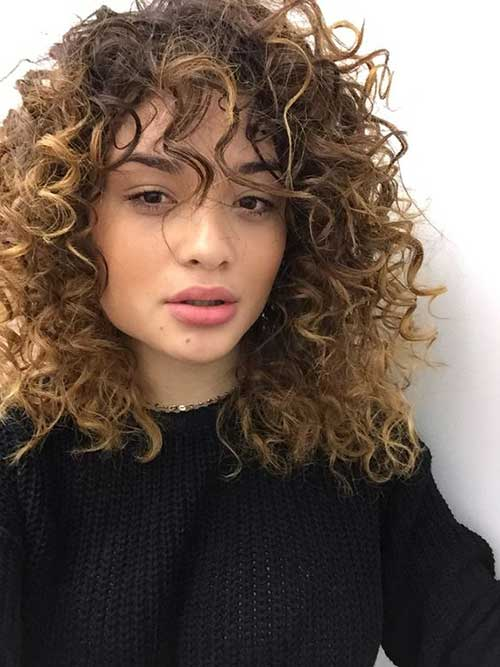 Curly Hairstyles with Bangs-9