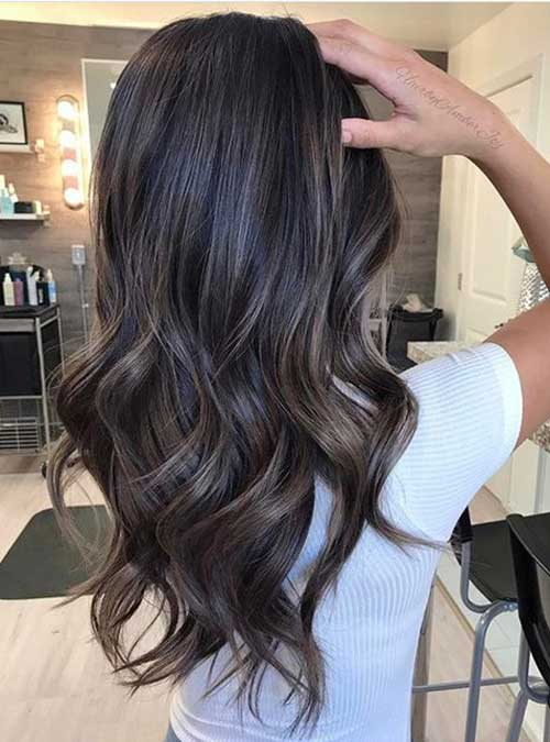 Ashy Brown Hairstyles