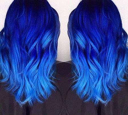 Blue Hair Color Idea, Hair Color Blue Fox