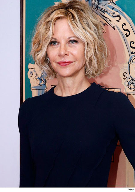 Meg Ryan Haircut, Hair Meg Ryan Short