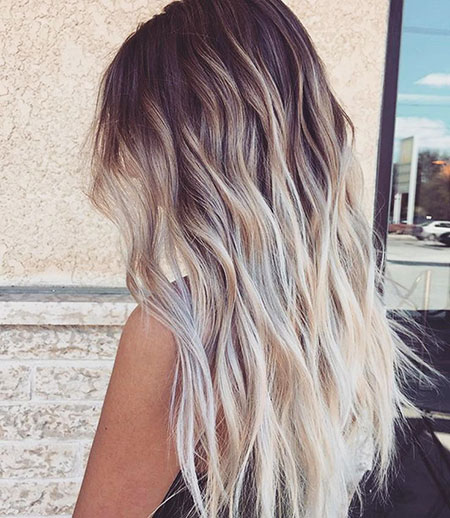 Ombre Hair Color Idea, Balayage Hair Summer Color