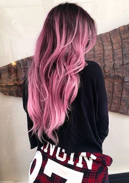 Pink Ombre Hair, Hair Dark Ombre Pink