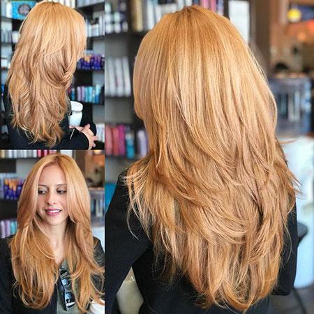 Layered Blonde Hairtyles Strawberry