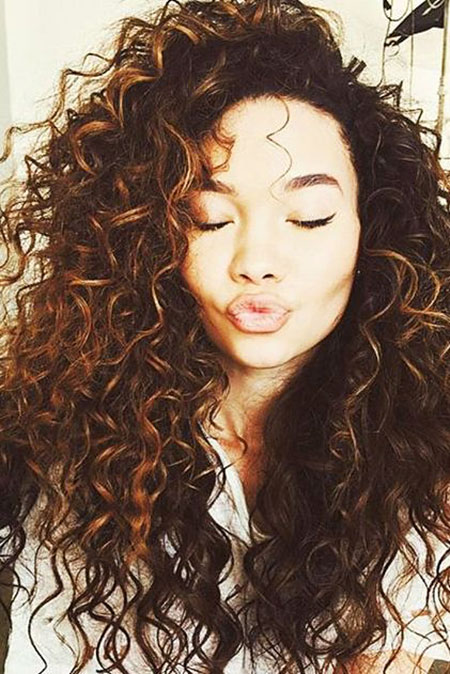 Curly Hair Curls Natural