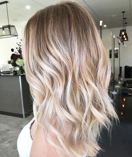 Blonde Balayage Hair Long
