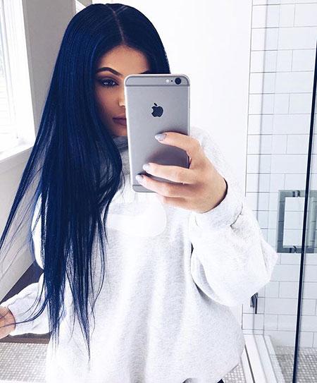 Hair Jenner Kylie Navy