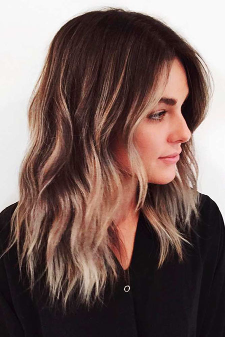 Hair Balayage Medium Layered