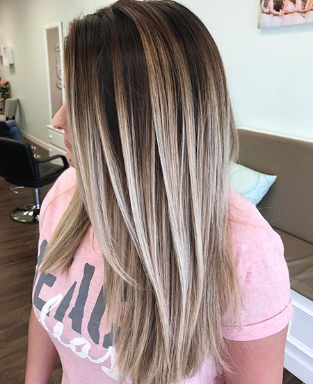 Blonde Balayage Hair Highlights