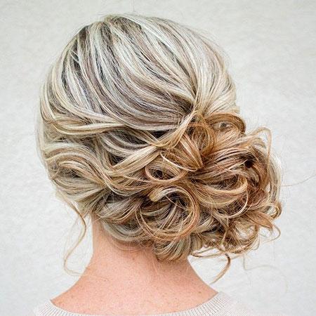 Wedding Hair Updo Side