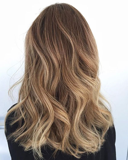 Balayage Hair Blonde Honey