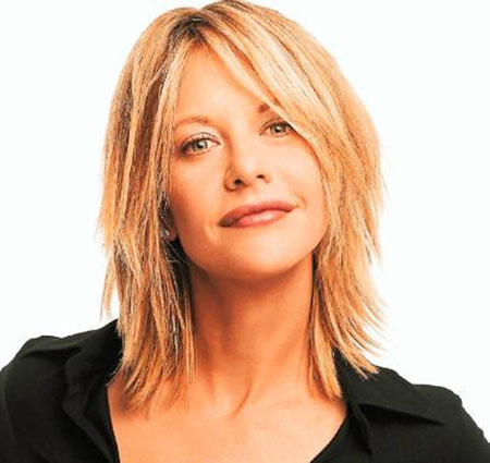 Hair Meg Ryan Bangs