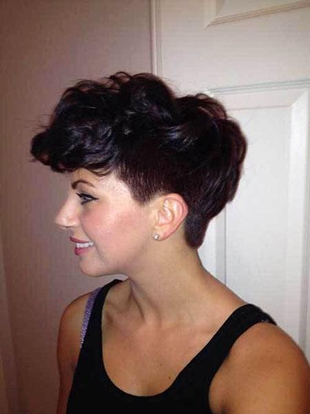 Pixie Cut Hair Tapered