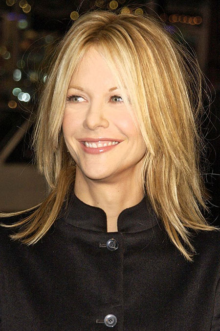 Hair Meg Ryan Length