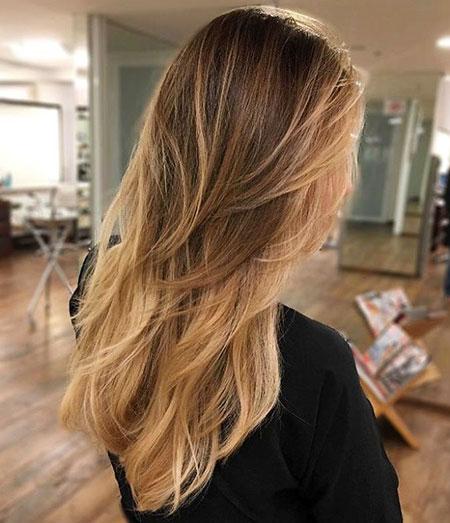 Long Layers, Hair Long Layered Blonde