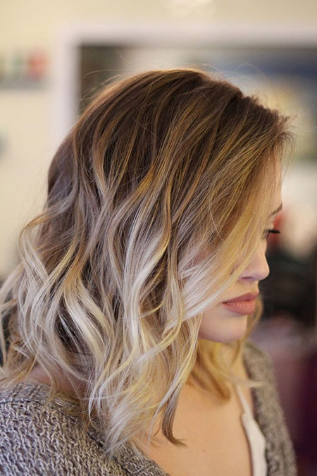 Brown to Blonde, Hair Balayage Color Blonde