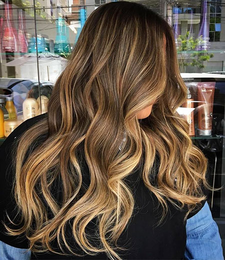 Balayage Color Hair Highlights