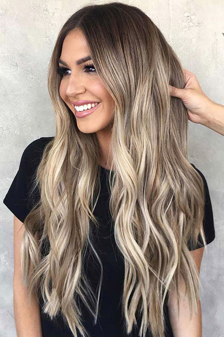 Hair Balayage Blonde Ombre