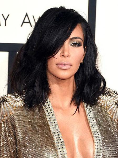 28 Medium Length Haircuts With Bangs Hairstyles