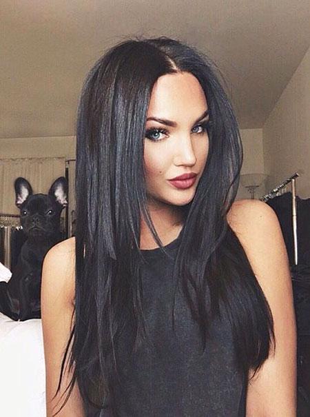 Hair Color Dark Black