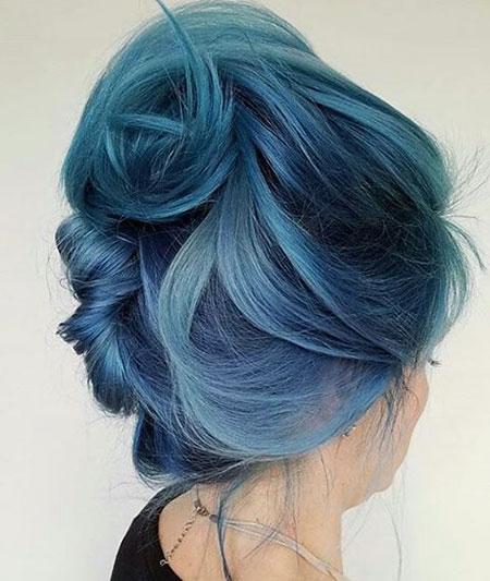 Hair Color Mermaid Blue