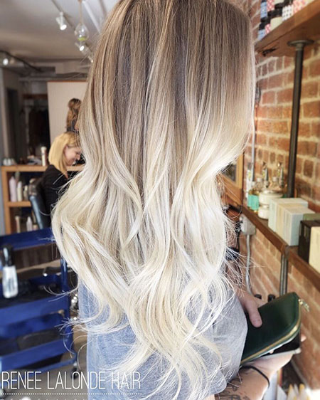 Ombre Long Hair, Blonde Hair Balayage Ombre