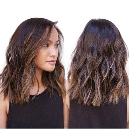 Medium Hair, Hair Medium Wavy Length