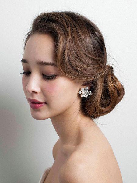 Low Bun Style, Wedding Hair Hairtyles Styles